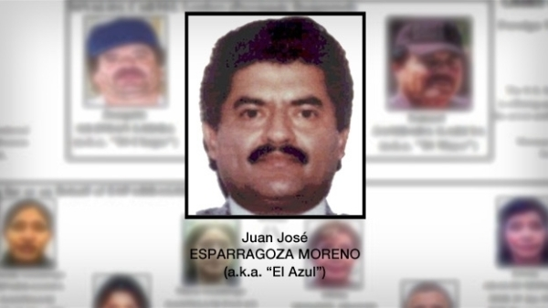 The US State Department offered a reward of $5 million for information leading to the capture of 'El Azul' Esparragoza.