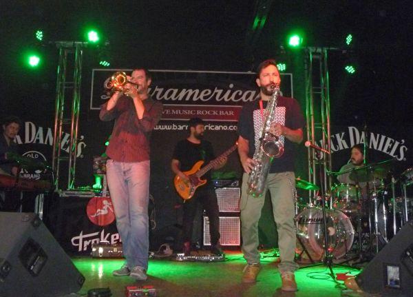 Troker performing at Guadalajara's Barramericano.