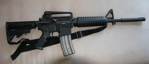 Along with the AK-47, the AR-15 assault rifle is the weapon of choice for most Mexican cartels.