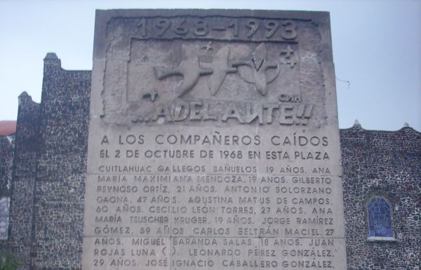 Tlatelolco-monument