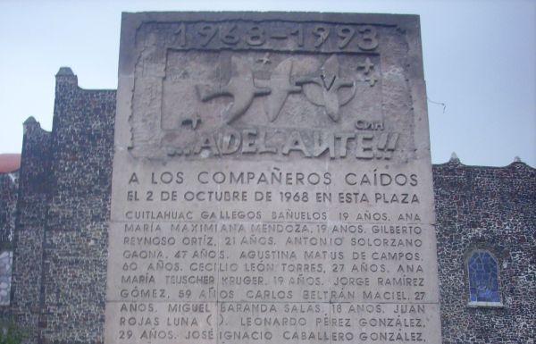 Tlatelolco-monument