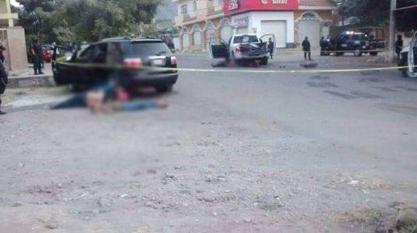 Witnesses say federal police murdered several unarmed civilians during the shootout in Apatzingan.