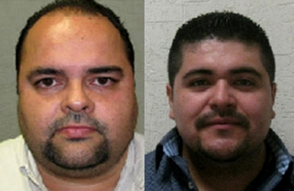Jose Hernandez (left) and Vladimir Azarte are the two prime suspects.