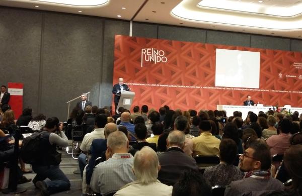 Salman Rushdie was one of the highest profile guests at the 2015 International Book Fair in Guadalajara.