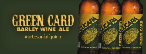 Cucapá have produced a number of border related beers such as this Green Card barley wine.