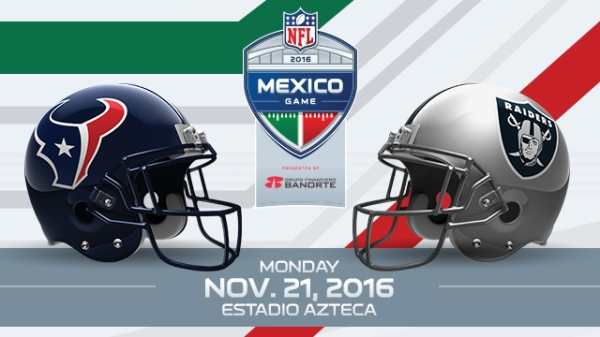 Mexico is set to host three regular-season games over the next three years.