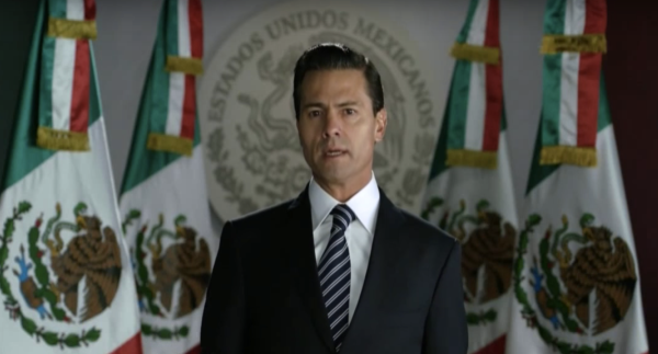 President Enrique Peña Nieto has the lowest approval ratings in over 20 years.